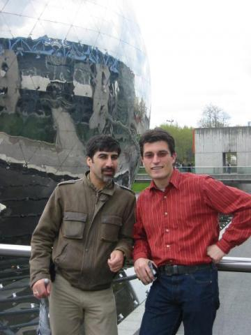 Mahdi & Christophe, cité des sciences, Paris