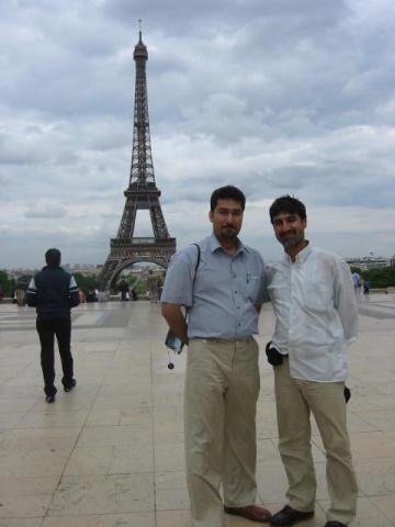 Ali est accueilli par HAMRAHI sur Paris