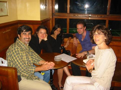 Cécile, Ivan, Sepideh, Ariane, Mahdi
