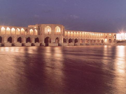 Iran, Ispahan Pole Khajou