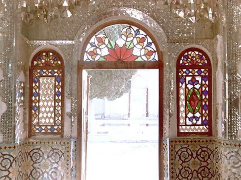 Iran, Panjdari ( le nom du portaille)