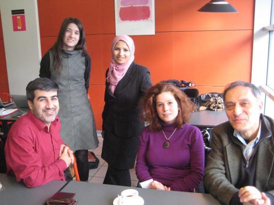 Mahdi, Laure-Christine, Fatima, Florence, Hosein